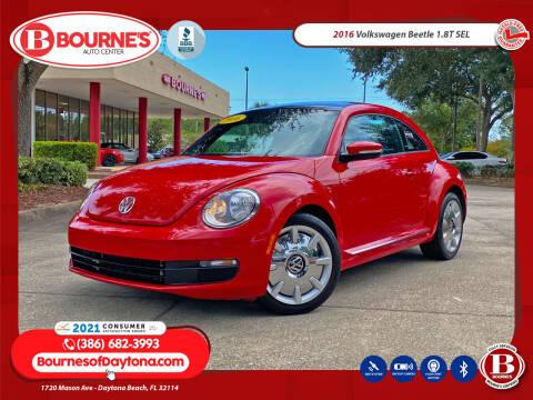 2016 Volkswagen Beetle for sale at Bourne's Auto Center in Daytona Beach FL