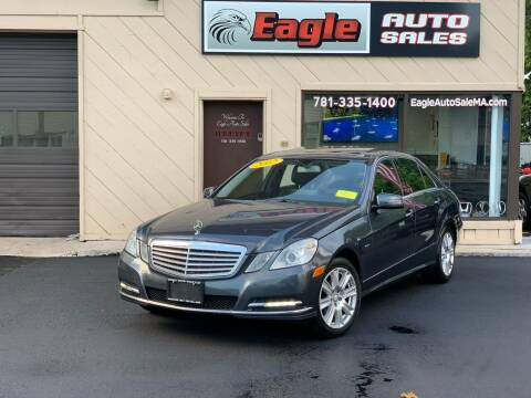 2012 Mercedes-Benz E-Class for sale at Eagle Auto Sales LLC in Holbrook MA