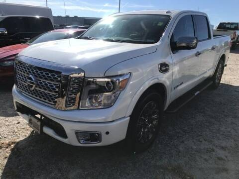 2017 Nissan Titan for sale at BILLY HOWELL FORD LINCOLN in Cumming GA