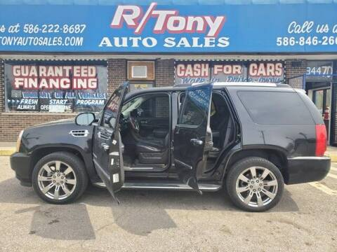 2009 Cadillac Escalade for sale at R Tony Auto Sales in Clinton Township MI