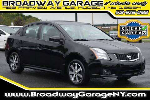 2012 Nissan Sentra for sale at Broadway Garage of Columbia County Inc. in Hudson NY