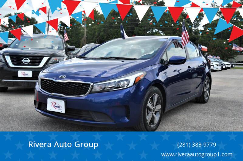 2018 Kia Forte for sale at Rivera Auto Group in Spring TX