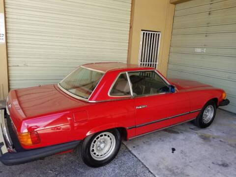 1983 Mercedes-Benz 380-Class for sale at Premier Luxury Cars in Oakland Park FL