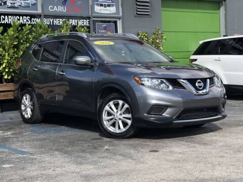 2016 Nissan Rogue for sale at CARUCARS LLC in Miami FL