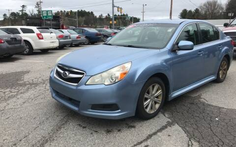 2010 Subaru Legacy for sale at Official Auto Sales in Plaistow NH