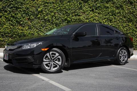 2017 Honda Civic for sale at 605 Auto  Inc. in Bellflower CA