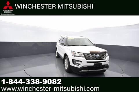 2017 Ford Explorer for sale at Winchester Mitsubishi in Winchester VA