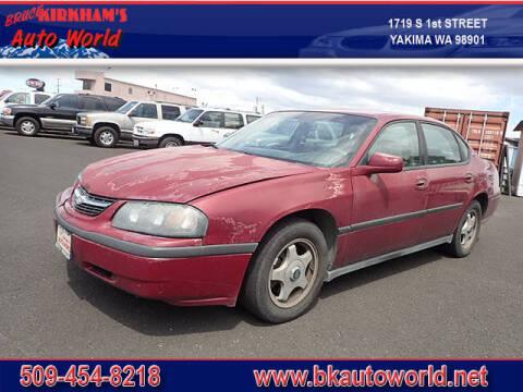 2005 Chevrolet Impala for sale at Bruce Kirkham Auto World in Yakima WA