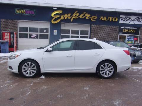 2014 Chevrolet Malibu for sale at Empire Auto Sales in Sioux Falls SD