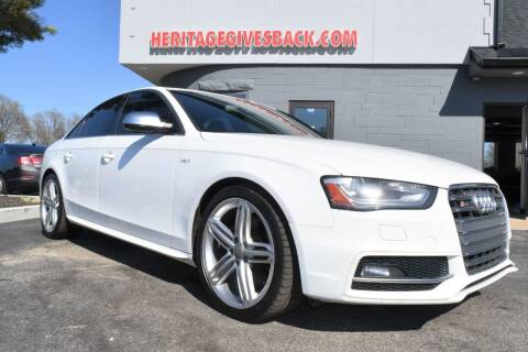 2013 Audi S4 for sale at Heritage Automotive Sales in Columbus in Columbus IN