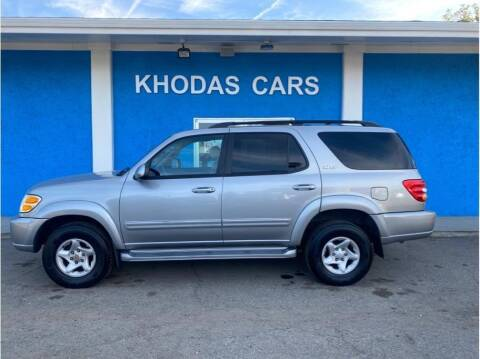 2001 Toyota Sequoia for sale at Khodas Cars in Gilroy CA
