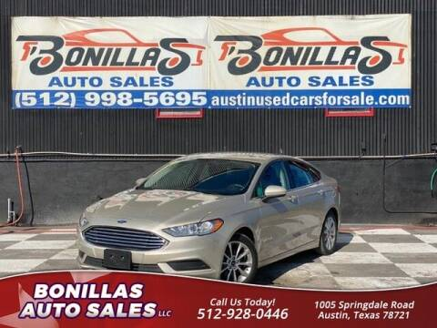 2017 Ford Fusion Hybrid for sale at Bonillas Auto Sales in Austin TX