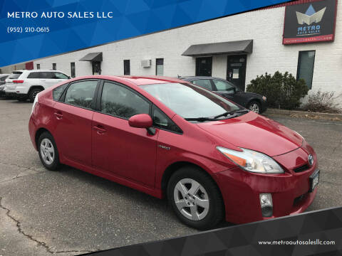 2011 Toyota Prius for sale at METRO AUTO SALES LLC in Blaine MN