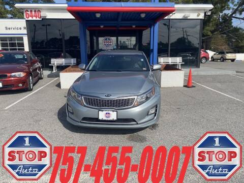 2015 Kia Optima Hybrid for sale at 1 Stop Auto in Norfolk VA