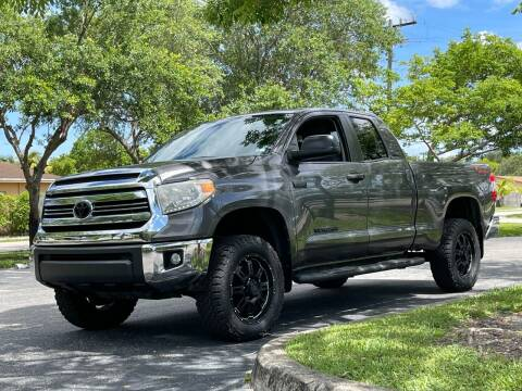 2016 Toyota Tundra for sale at Auto Direct of South Broward in Miramar FL