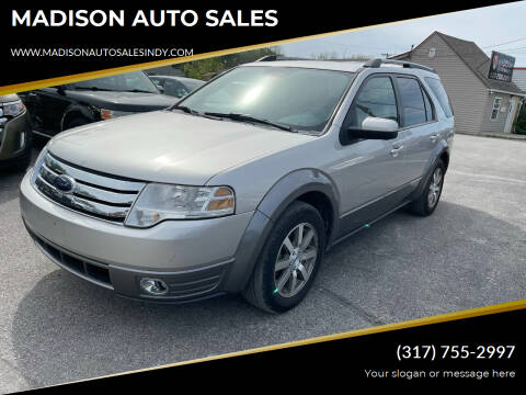 2008 Ford Taurus X for sale at MADISON AUTO SALES in Indianapolis IN
