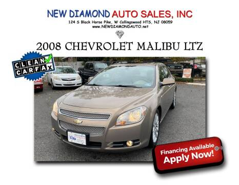 2008 Chevrolet Malibu for sale at New Diamond Auto Sales, INC in West Collingswood NJ