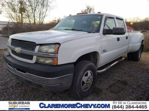 2004 Chevrolet Silverado 3500 for sale at Suburban Chevrolet in Claremore OK