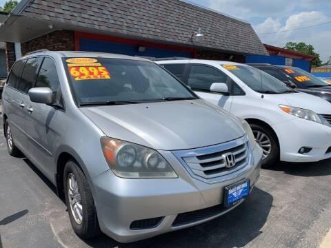 2008 Honda Odyssey for sale at Eagle Motors in Hamilton OH