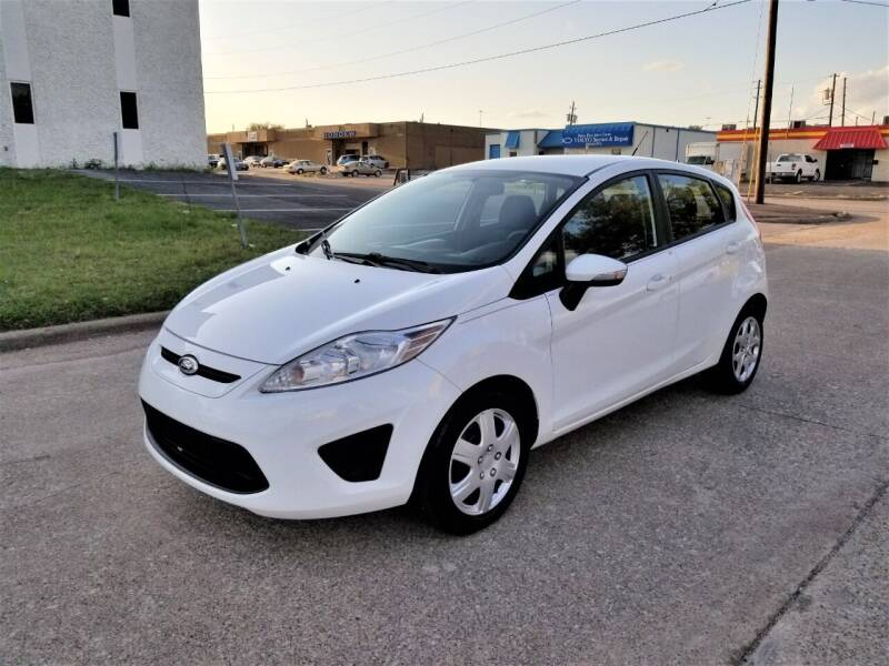 2013 Ford Fiesta for sale at Image Auto Sales in Dallas TX