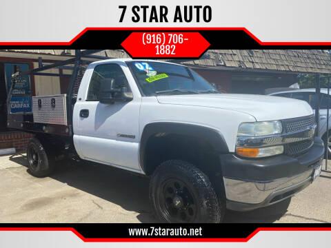 2002 Chevrolet Silverado 2500HD for sale at 7 STAR AUTO in Sacramento CA