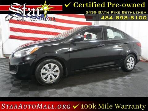 2017 Hyundai Accent for sale at STAR AUTO MALL 512 in Bethlehem PA