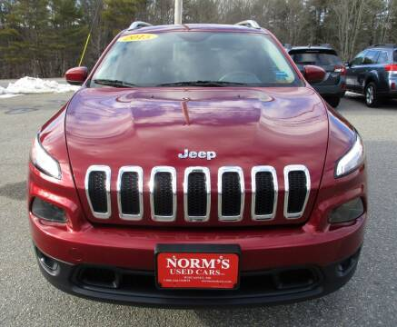 2015 Jeep Cherokee for sale at NORM'S USED CARS INC - Trucks By Norm's in Wiscasset ME