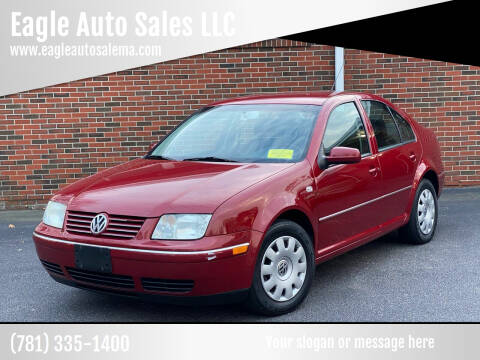 2005 Volkswagen Jetta for sale at Eagle Auto Sales LLC in Holbrook MA
