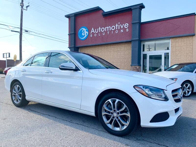 2017 Mercedes-Benz C-Class for sale at Automotive Solutions in Louisville KY