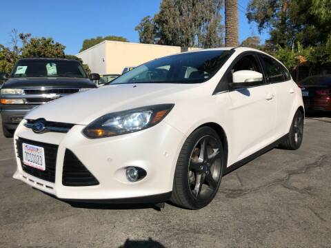 2014 Ford Focus for sale at Martinez Truck and Auto Sales in Martinez CA