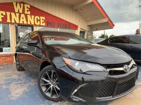2016 Toyota Camry for sale at Caspian Auto Sales in Oklahoma City OK
