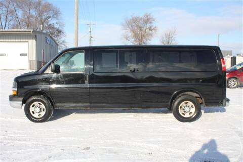2013 Chevrolet Express Passenger for sale at SCHMITZ MOTOR CO INC in Perham MN