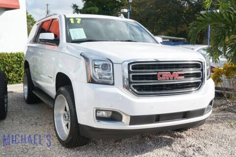 2017 GMC Yukon for sale at Michael's Auto Sales Corp in Hollywood FL