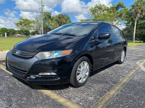 2010 Honda Insight for sale at Lamberti Auto Collection in Plantation FL