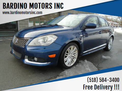 2012 Suzuki Kizashi for sale at BARDINO MOTORS INC in Saratoga Springs NY