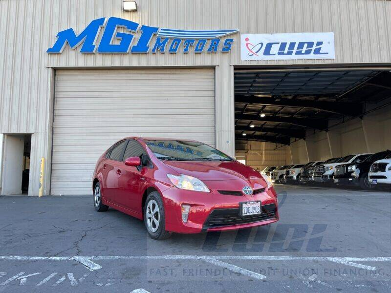 2013 Toyota Prius for sale at MGI Motors in Sacramento CA