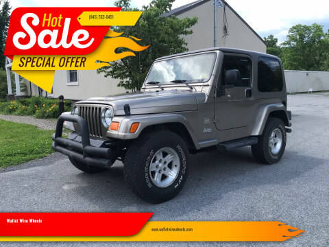 2004 Jeep Wrangler for sale at Wallet Wise Wheels in Montgomery NY