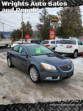 2011 Buick Regal for sale at Wrights Auto Sales and Repair in Dolgeville NY