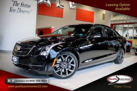 2017 Cadillac ATS for sale at Quality Auto Center in Springfield NJ