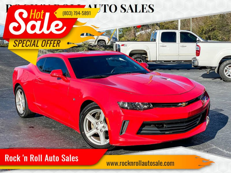 2016 Chevrolet Camaro for sale at Rock 'n Roll Auto Sales in West Columbia SC
