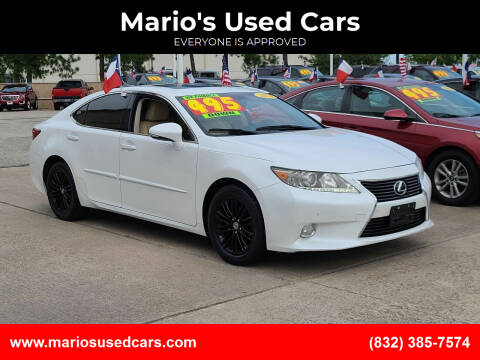 2013 Lexus ES 350 for sale at Mario's Used Cars in Houston TX