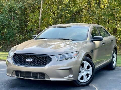 2013 Ford Taurus for sale at Sebar Inc. in Greensboro NC