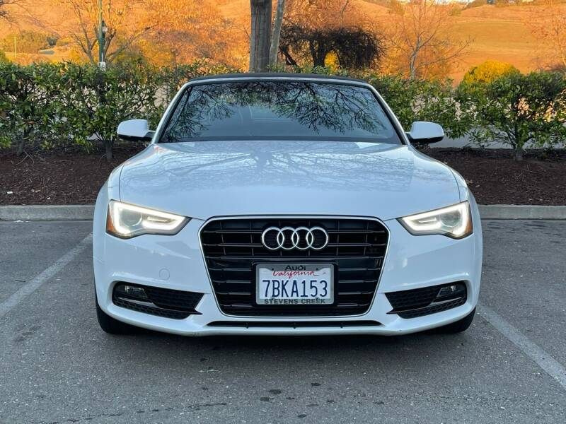 2013 Audi A5 for sale at CARFORNIA SOLUTIONS in Hayward CA