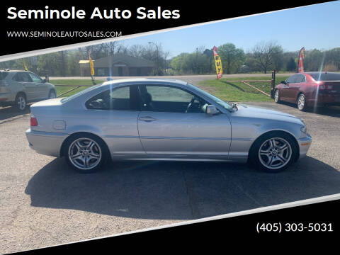 2004 BMW 3 Series for sale at Seminole Auto Sales in Seminole OK