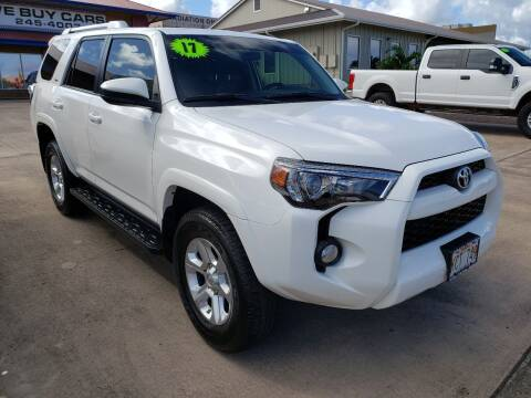 2017 Toyota 4Runner for sale at Ohana Motors in Lihue HI