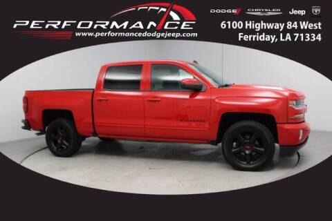 2017 Chevrolet Silverado 1500 for sale at Auto Group South - Performance Dodge Chrysler Jeep in Ferriday LA