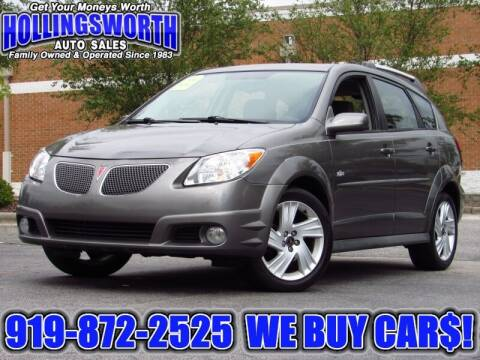 2006 Pontiac Vibe for sale at Hollingsworth Auto Sales in Raleigh NC