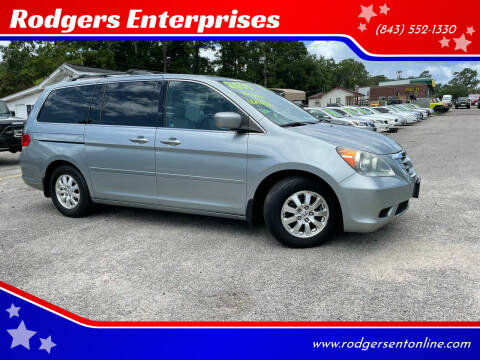 2010 Honda Odyssey for sale at Rodgers Enterprises in North Charleston SC
