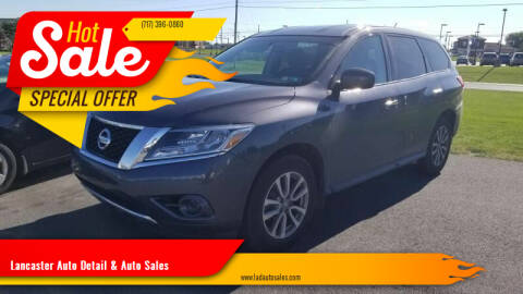 2014 Nissan Pathfinder for sale at Lancaster Auto Detail & Auto Sales in Lancaster PA