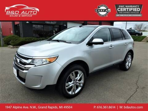2013 Ford Edge for sale at B&D Auto Sales Inc in Grand Rapids MI